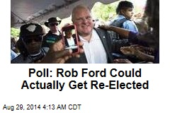 Poll: Rob Ford Could Actually Get Re-Elected
