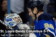 St. Louis Bests Columbus 5-1