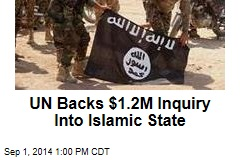 UN Backs Inquiry of Islamic State's Alleged Crimes