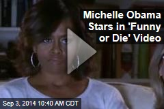 Michelle Obama Stars in 'Funny or Die' Video