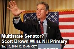 Multi-State Senator? Scott Brown Wins New Hampshire Primary