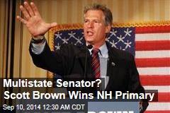 Multi-State Senator? Scott Brown Wins New Hampshire Primary
