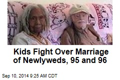 Kids Fight Over Marriage of Newlyweds, 95 and 96