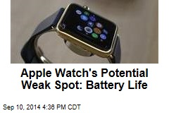 Apple Watch's Potential Weak Spot: Battery Life