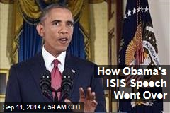 How Obama's ISIS Speech Went Over