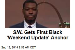 SNL Gets First Black 'Weekend Update' Anchor