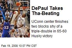 DePaul Takes Tha-Beating