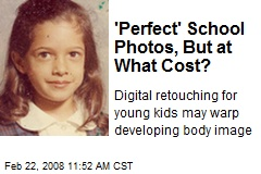 'Perfect' School Photos, But at What Cost?
