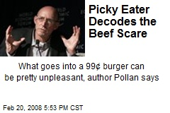 Picky Eater Decodes the Beef Scare
