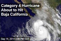 Category 4 Hurricane About to Hit Baja California