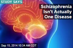 Schizophrenia Isn't Actually One Disease