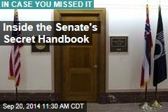 Inside the Senate's Secret Handbook