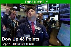 Dow Up 41 Points