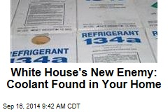 White House's New Enemy: Coolant Found in Your Home