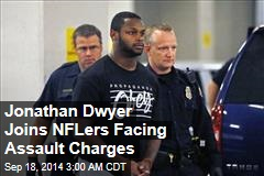 Jonathan Dwyer Joins List of NFLers Facing Assault Charges