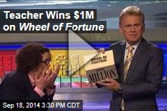 Teacher Wins $1M on Wheel of Fortune