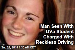 Man Seen With UVa Student Charged With Reckless Driving