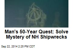 Man's 50-Year Quest: Solve Mystery of NH Shipwrecks