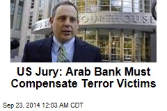 US Jury: Arab Bank Must Compensate Terror Victims