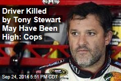 Driver Killed by Tony Stewart May Have Been High: Cops