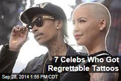 7 Celebs Who Got Regrettable Tattoos