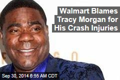 Walmart to Tracy Morgan: You Should Have Worn a Seat Belt