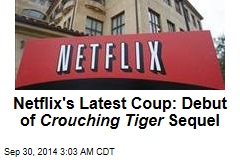 Crouching Tiger Sequel to Debut on Netflix