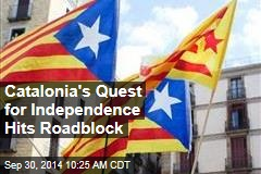 Catalonia's Quest for Independence Hits Roadblock