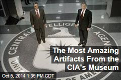 The Most Amazing Artifacts From the CIA's Museum