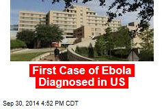 First Case of Ebola Diagnosed in US