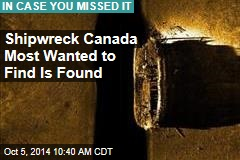 Canada: Arctic Shipwreck Is Explorer's Flagship