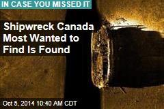 Canada: Arctic Shipwreck Is Explorer's Flagship