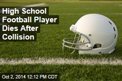 High School Football Player Dies After Collision