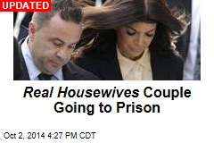 Real Housewives Hubby Sentenced to 41 Months