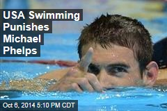 USA Swimming Punishes Michael Phelps