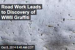 Ancient Bath Yields WWII-Era Graffiti