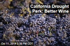 California Drought Perk: Better Wine
