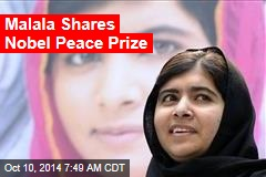 Malala Wins Nobel Peace Prize