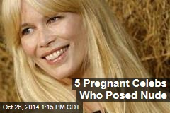 5 Pregnant Celebs Who Posed Nude