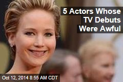 5 Actors Whose TV Debuts Were Awful