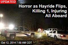 Horror as Hayride Flips, Injures All Aboard