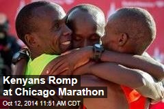 Kenyans Romp at Chicago Marathon