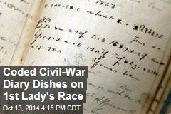 Confederate Diary Dishes Gossip in Code