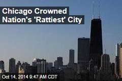 Chicago Crowned Nation's 'Rattiest' City
