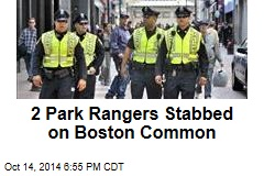 2 Park Rangers Stabbed on Boston Common