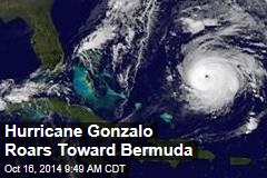 Hurricane Gonzalo Roars Toward Bermuda