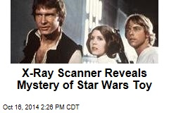 X-Ray Scanner Reveals Mystery of Star Wars Toy
