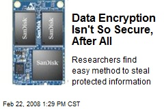 Data Encryption Isn't So Secure, After All