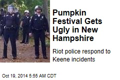 Pumpkin Festival Gets Ugly in New Hampshire