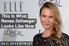 This Is What Renee Zellweger Looks Like Now